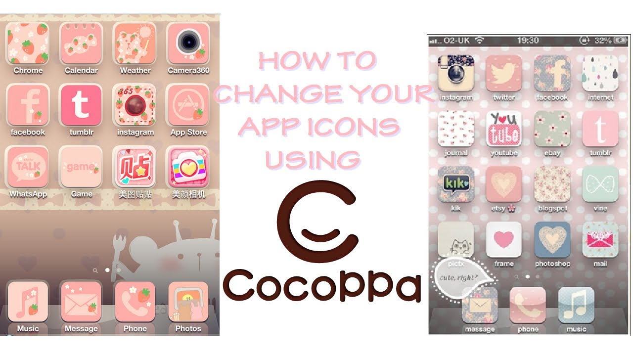 how to change app icons on iphone how to change your app icons using cocoppa 19872