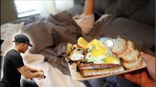 Waking Hazel Up With Breakfast In Bed! 💕