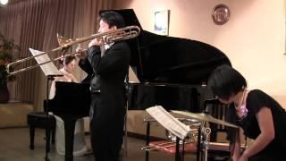 カーペンターズの「シング」 トロンボーン・ピアノ・パーカッションによ...
