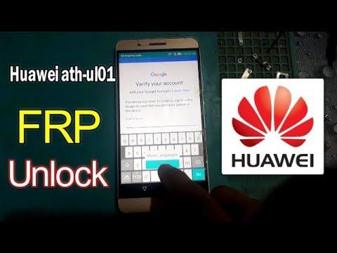 Bypass FRP Lock Google Account Huawei Shot X ATH UL01 New Method 2018