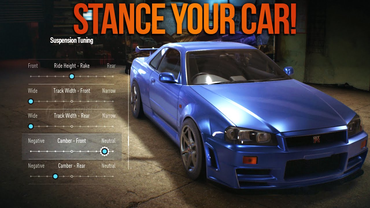 need for speed 2015 how to stance remove parts of your car nfs tips youtube. Black Bedroom Furniture Sets. Home Design Ideas