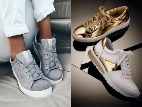 Модные женские кроссовки в стиле Nike Air Force - YouTube