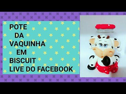 POTE DA VAQUINHA EM BISCUIT LIVE DO FACEBOOK