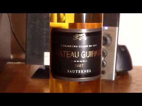 World Wine Review 1st Grand Cru Class 1855 Chateau Guiraud 2007 Sauternes