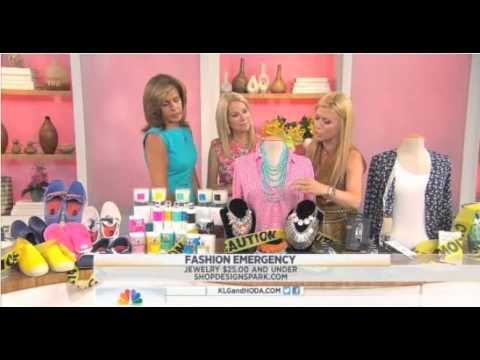 Platinum Publicity jewelry client Shop Design Spark featured on the Today Show