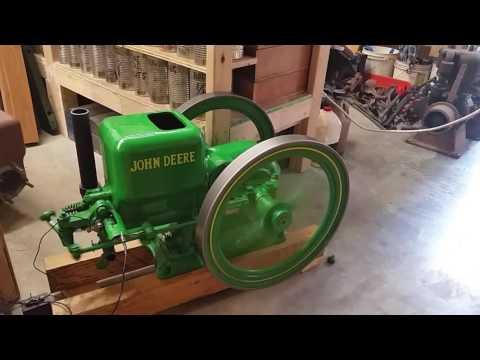 JOHN DEERE MODEL E 1 1/2 HP HIT MISS MOTOR