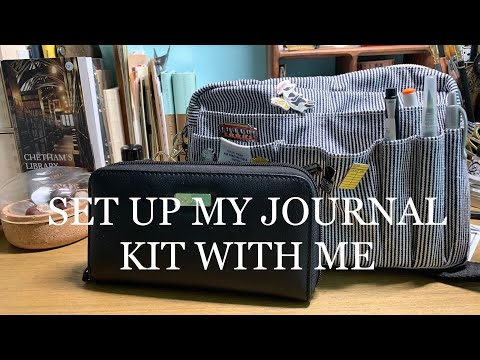 Set Up My Journal Kit With Me