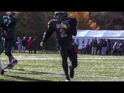 Jermaine J Jamaleldine American Football U16 Highlight Video Berlin Adler