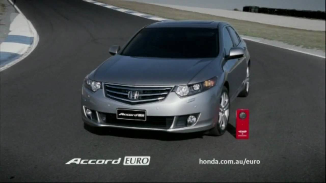 Honda Accord Euro Tv Ad Wheels Car Of The Year Australia 2009