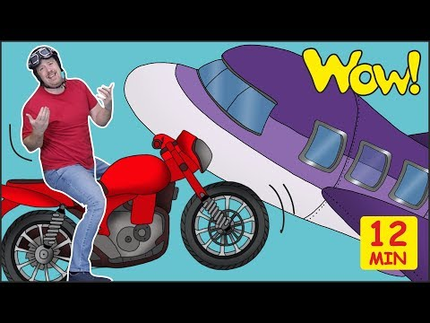Maggie Magic Holiday Trip Story for Kids from Steve and Maggie | Speaking Wow English TV