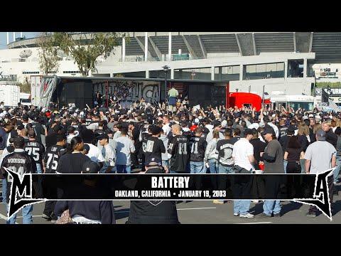 Metallica: Battery (MetOnTour - Oakland, CA - 2003) Thumbnail image