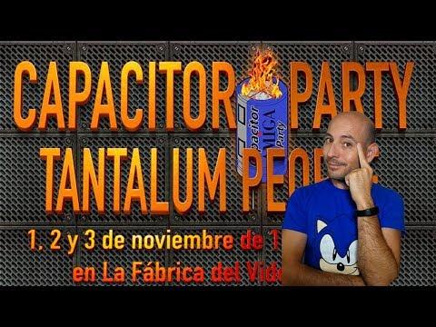 CAPACITOR PARTY VISITA
