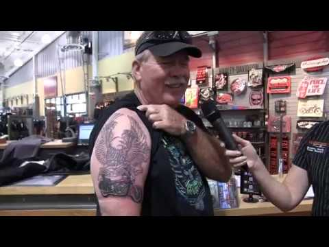 FIRST Harley Davidson Tattoo - YouTube - photo#28
