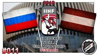 EISHOCKEY WELTMEISTERSCHAFT 2018 [Deutsch/German] #011 - Österreich - Russland ★ IIHF 2018