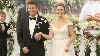 "Booth and Brennan's Wedding: ""We Caught Eachother"" (9X06)"