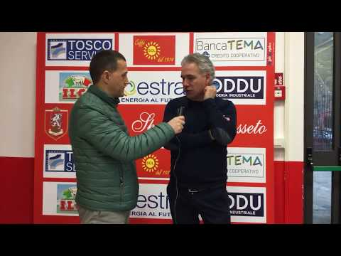 Us Grosseto-San Miniato Basso 0-0, intervista a mister Danesi