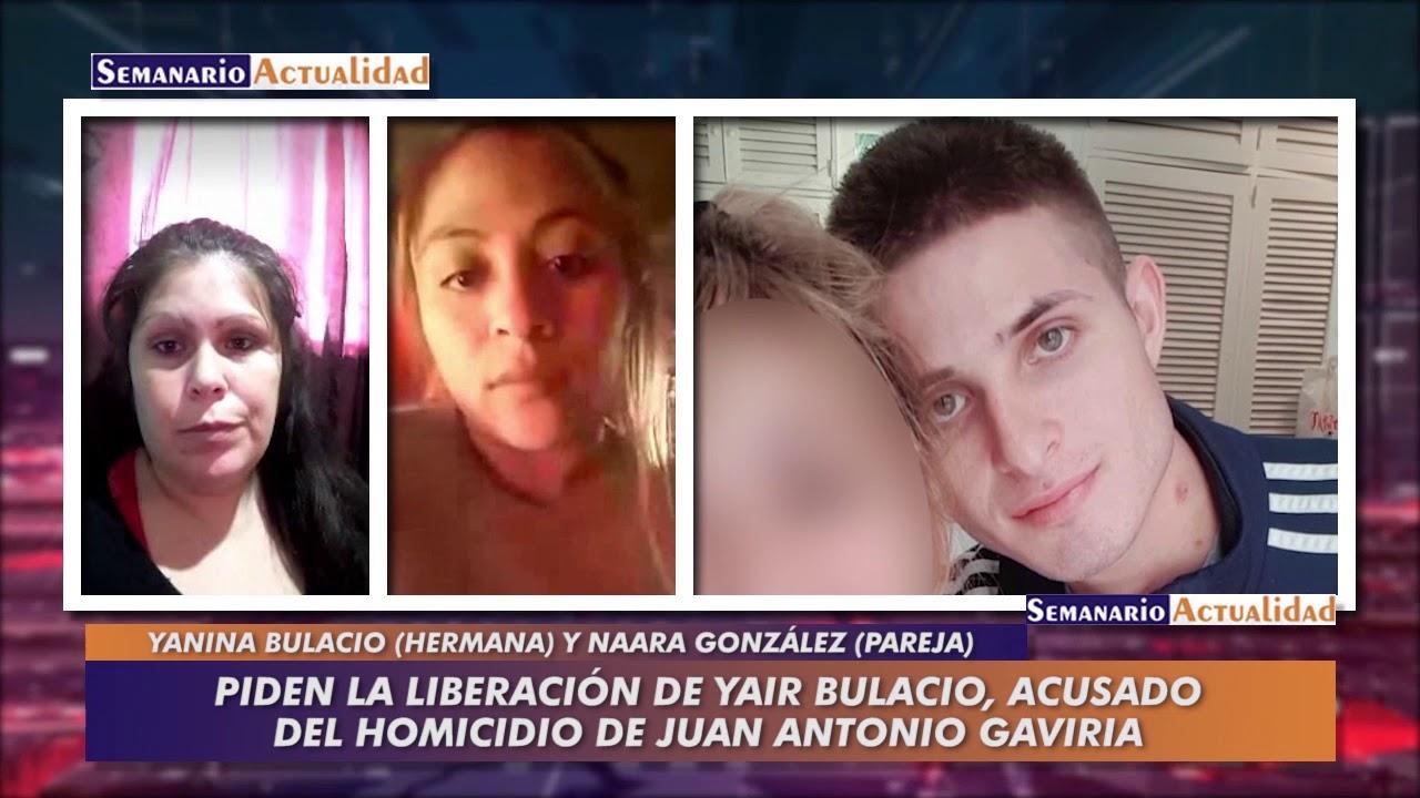 Piden la liberación de Yair Bulacio, acusado del homicidio de Juan Antonio Gaviria