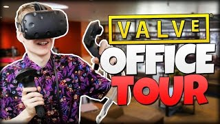 valve office tour in virtual reality   destinations vr htc vive gameplay
