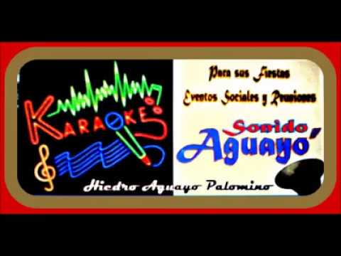 ¨ Sonido Aguayo ¨en  Oriental  Puebla Pue. ( Karaoke )
