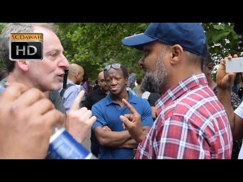 Forcing you!? Hashim vs Visitor l Speakers Corner l Hyde Park