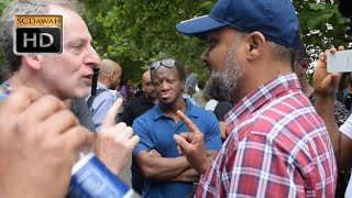 Forcing you!? Hashim vs Visitor l Speakers Corner l Hyde Park