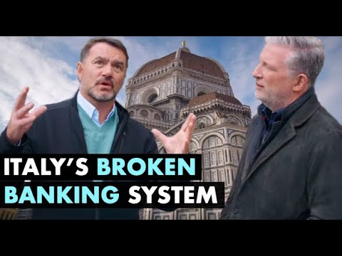 🔴 The History Of Italy's Broken Banking System (w/ Steve Diggle & Grant Williams)