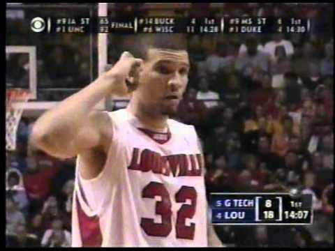 NCAA basketball  2005 Second Round Louisville vs Georgia Tech full game