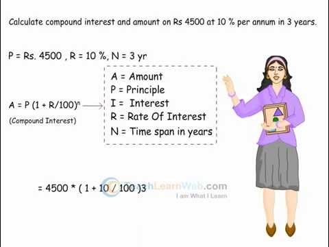 Worksheets Word Problems Of Compound Interest Viii cbse class 8 maths comparing quantities compound interest interest