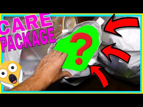 !!CARE PACKAGE!! from Gamestop! EPIC Dumpster Dive Night #500