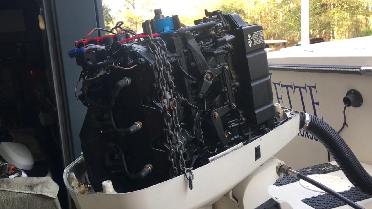 1996 Johnson 200 Ocean Runner V6 CDI Electronics Power