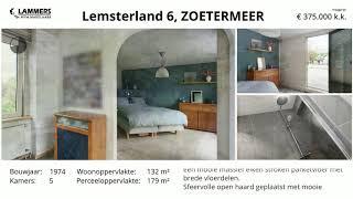 Koopwoning:  Lemsterland 6, Zoetermeer