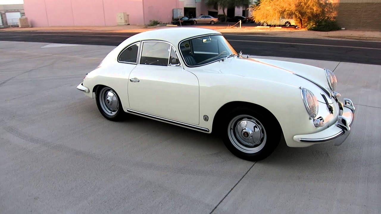 1960 Porsche 356b T5 Coupe S Match Rare Options For Sale