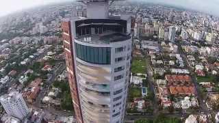 Vista aerea Torre Caney - FlyCloud - Av. Anacaona, Santo Domingo, República Dominicana