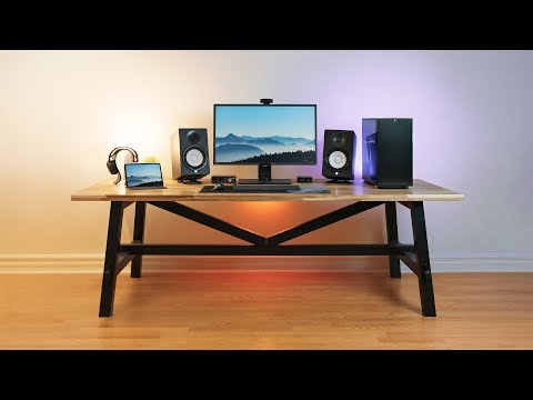 My AWESOME 2019 Gaming / Editing Desk Setup Tour!