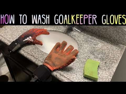 How to Wash Your Goalkeeper Gloves