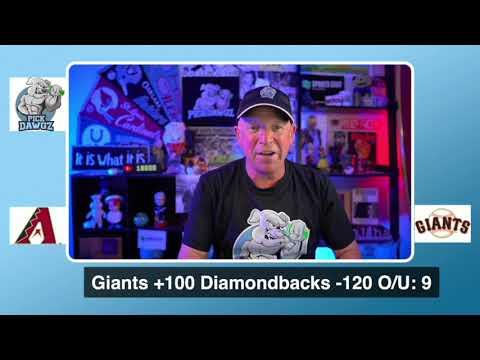 San Francisco Giants vs Arizona Diamondbacks Free Pick 8/21/20 MLB Pick and Prediction MLB Tips
