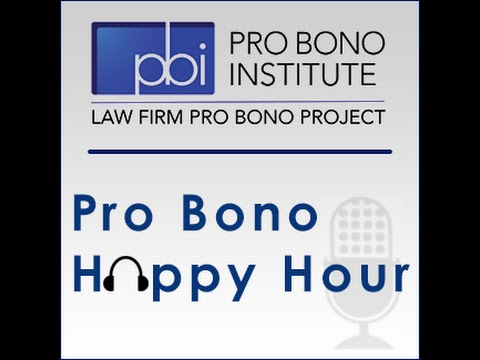 Pro Bono Happy Hour - Julie LaEace, Kirkland & Ellis