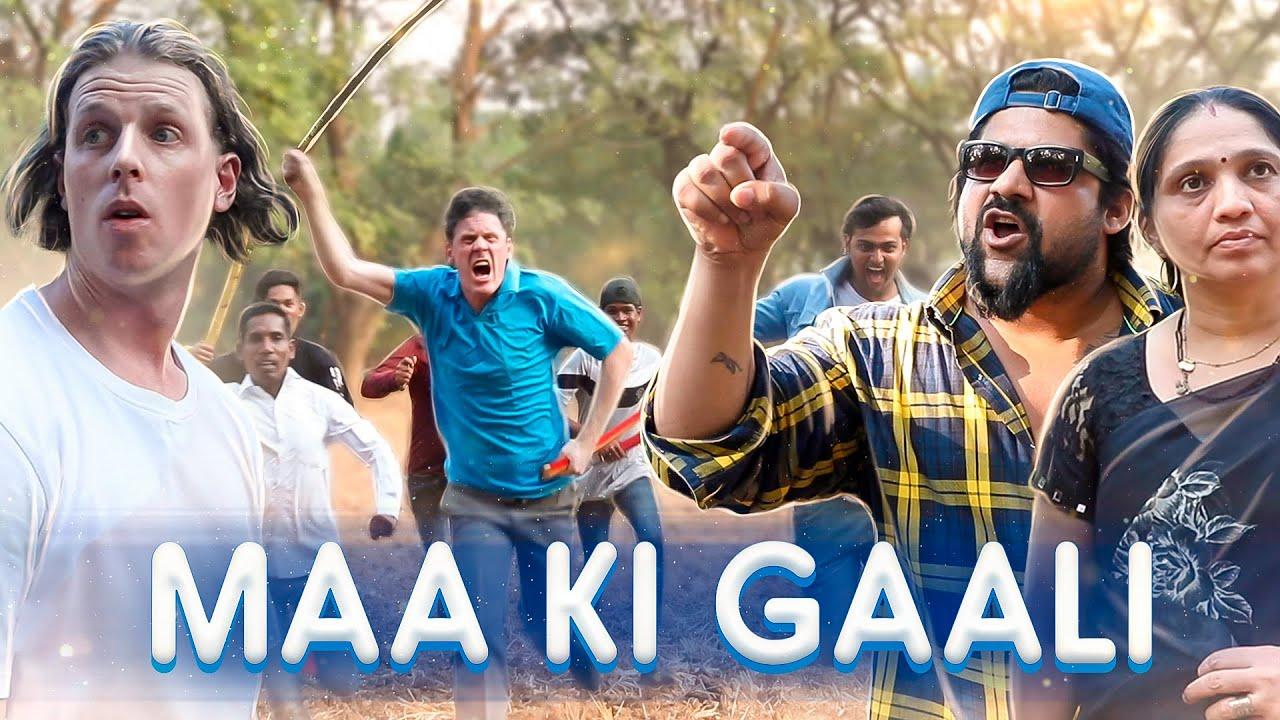 MAA KI GAALI | 2 Foreigners In Bollywood