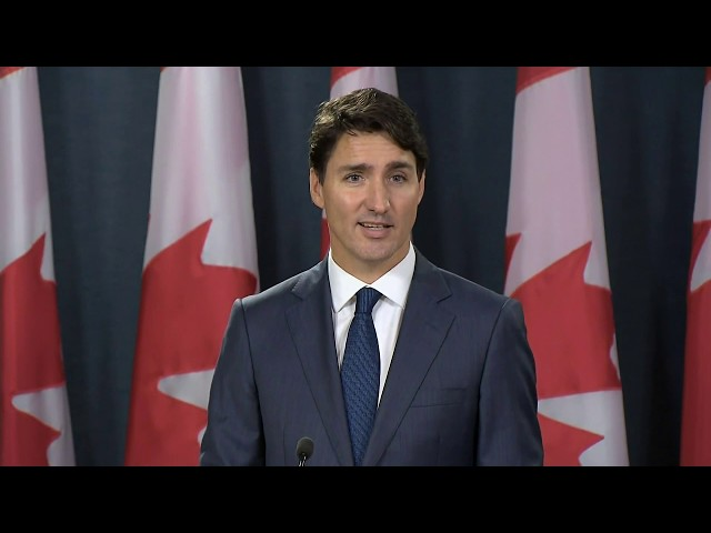 Canadian Prime Minister Justin Trudeau says his country is in a more stable place now that it has completed a renegotiation of a free trade deal with the United States and Mexico.
