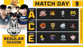 Free Fire Pro League Season 4 : Regular Season Day 9