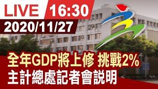 【完整公開】台灣GDP上修2%有機會! 30年來成長率可望超越中國