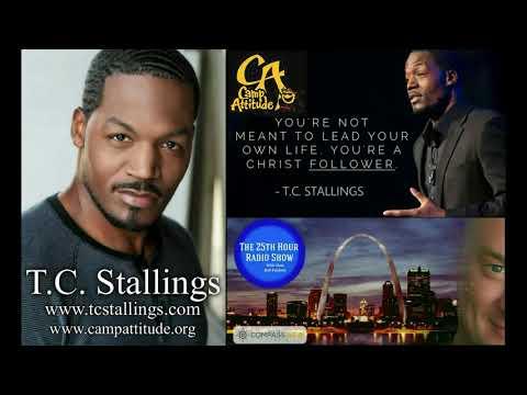 T.C. Stallings - Christian Actor/Author/Speaker - Spokesperson & Ambassador for Camp Attitude