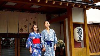 The best Ryokan in Japan (Ryokan = traditional Japanese inn) 旅館での素敵なひと時