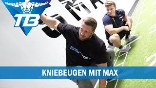 Kniebeugen à la Weightlifter I Mit Max Lang im Smartgym