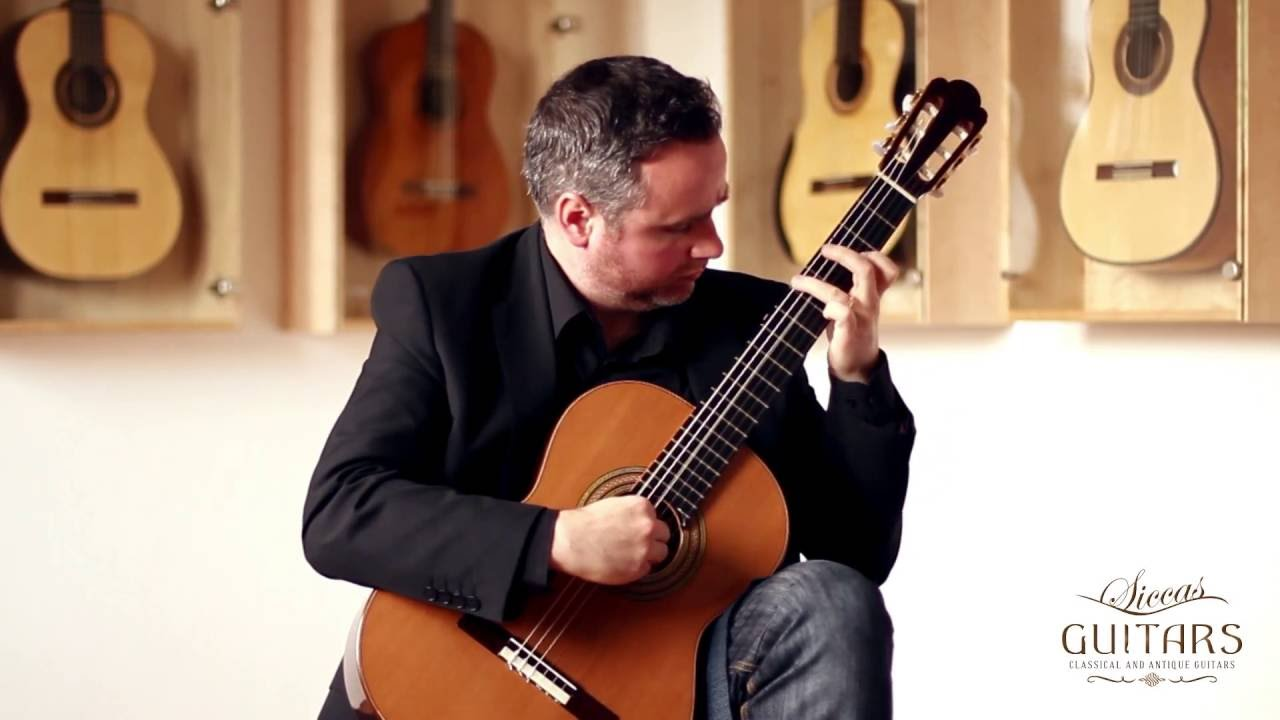 Matthew McAllister plays Farewell to Stromness by Peter Maxwell Davies on a 2012 Stefan Nitschke