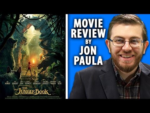 The Jungle Book (2016) -- Movie Review #JPMN