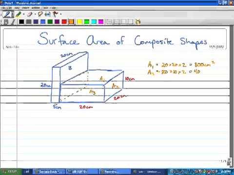 www mathworksheets4kids com surface area compound shapes www mathworksheets4kids com surface. Black Bedroom Furniture Sets. Home Design Ideas