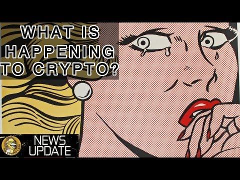 Bitcoin & Cryptocurrency Market Price is Crashing, Why? BTC & Crypto News