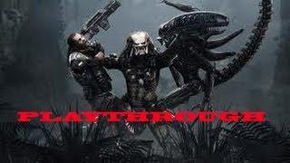 Aliens vs Predator 2010 Xbox 360 [Predator Playthrough - Part 1]