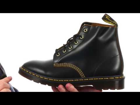 Dr. Martens 101 Smooth Archive 6 Eyelet Boot SKU: 8904075